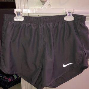Grey Nike Athletic Shorts